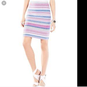 Beautiful stretch knit BCBG Skirt